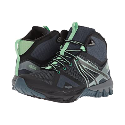 Merrell MQM Flex Mid Waterproof (Grey/Black) Women