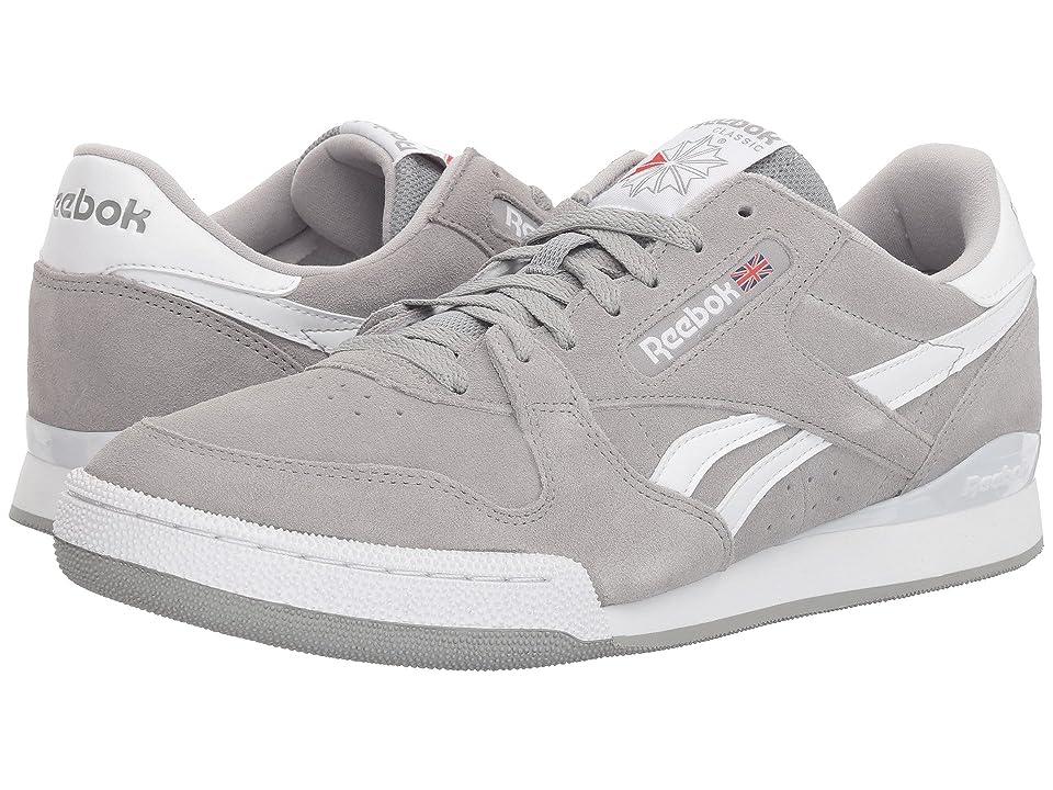 Reebok Lifestyle Phase 1 Pro MU (Tin Grey/White) Men