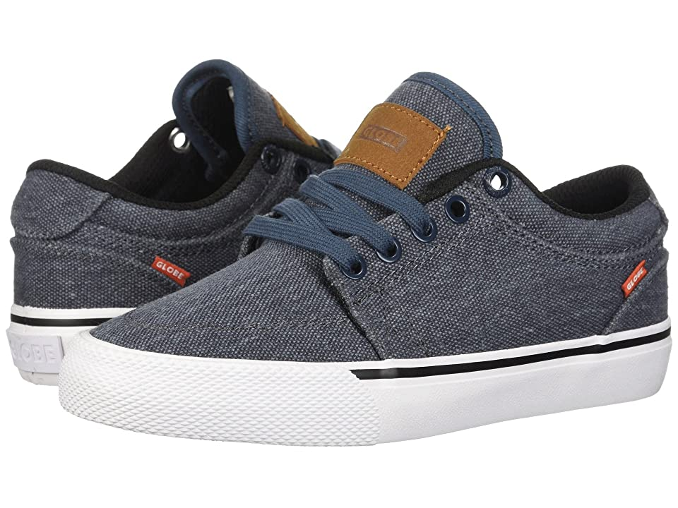 Globe GS (Little Kids/Big Kids) (Slate Blue Canvas) Men