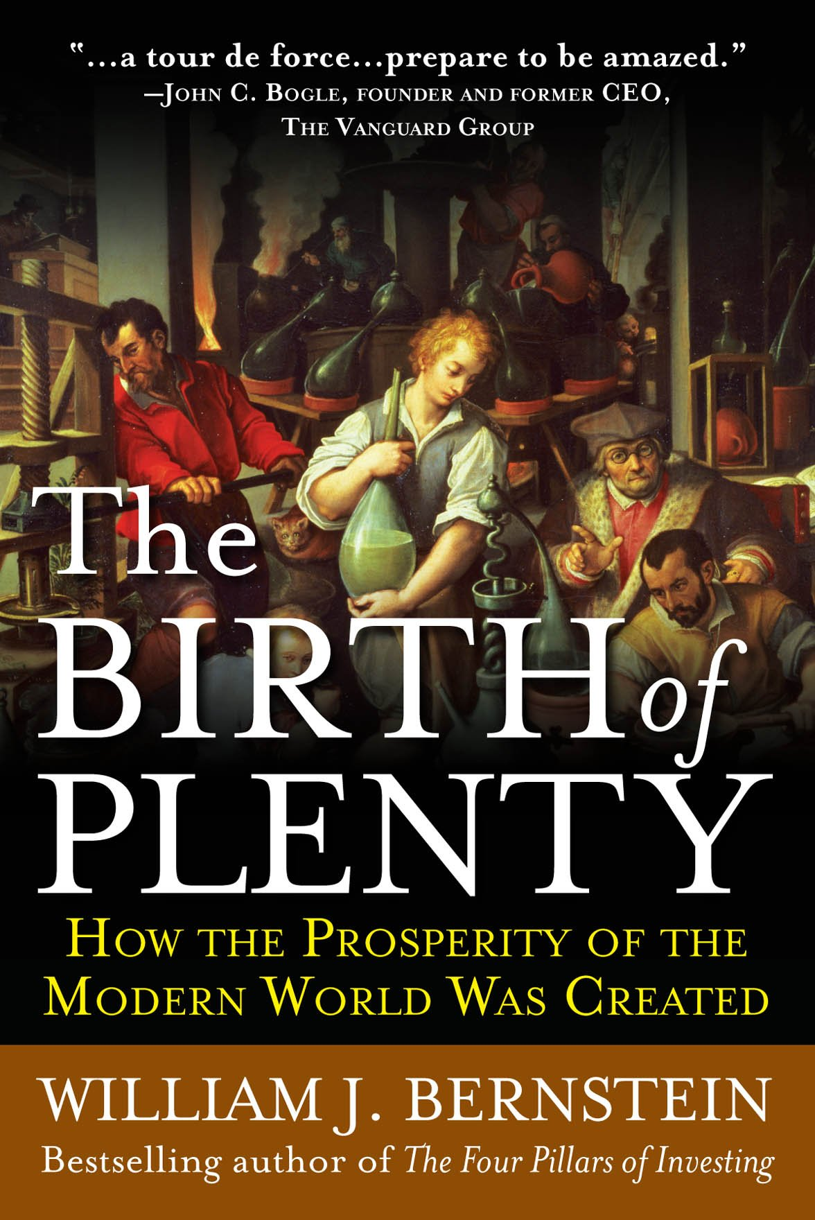 Image OfThe Birth Of Plenty: How The Prosperity Of The Modern World Was Created (English Edition)