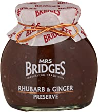 Mrs Bridges Rhubarb and Ginger Preserve, 12-Ounce