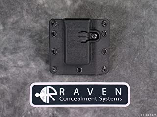 Raven Concealment Systems RCS Copia 9 40 357 Single Universal Magazine Ambedextrous OWB Holster, Standard Tall Profile Mag Carrier