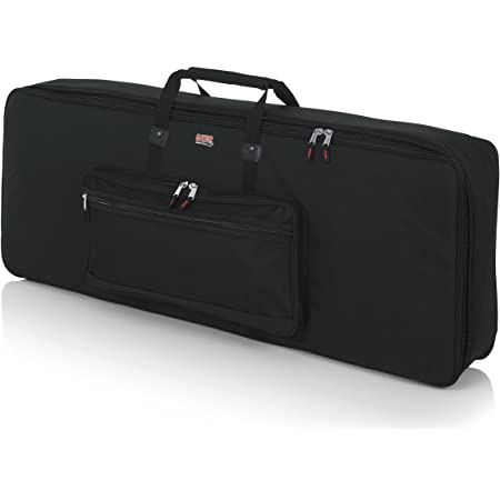 Gator Cases Padded Keyboard Gig Bag; Fits 76 Note Keyboards (GKB-76)