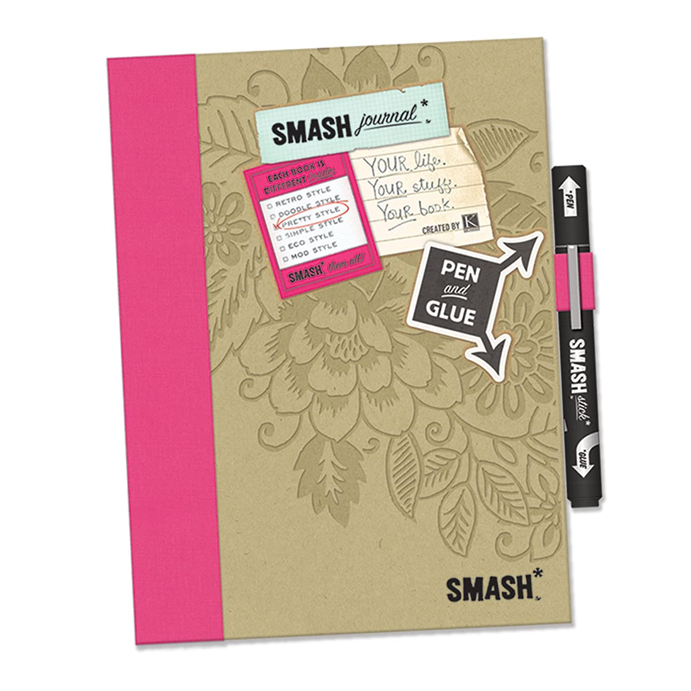 K&CompanySmash Folio, Pretty Pink