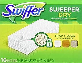 سويفر القماش الجاف للتنظيف عبوة بعدد 16 قطعة قماش