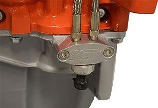 ICT Billet Oil Pan Pressure Sensor Adapter Port Dual 1/8