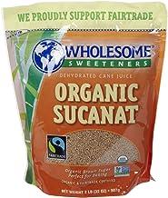 Wholesome Sweeteners Organic Sucanat, 2 lb, 32 Ounce