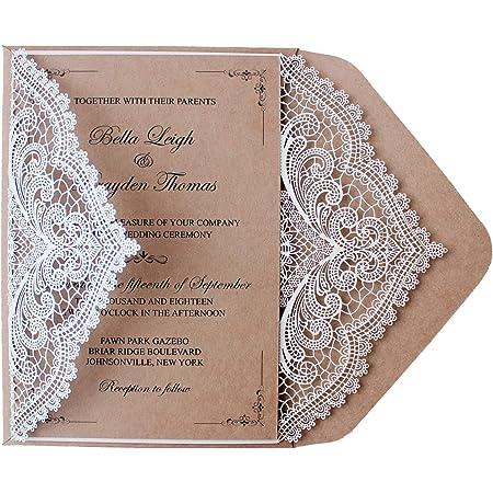 Rustic Wedding Invitation SAMPLE Wedding Invitation Navy Wedding Invite Wedding Stationery Wedding Invitation Set Kraft Wedding Invites