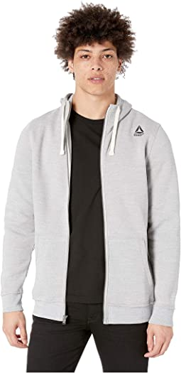 Elements Marble Melange Full Zip Hoodie