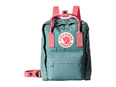 Fjallraven Kanken Mini (Frost Green/Peach Pink) Backpack Bags