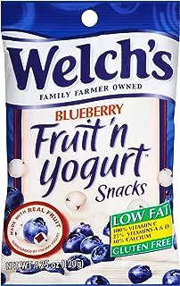 Welchs Blueberry Fruit N Yogurt Snacks, 4.25 Ounce -- 12 per case.