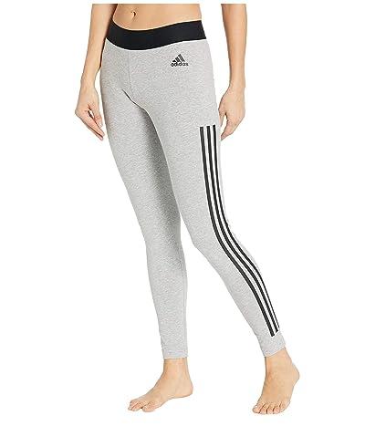 adidas Must Have 3-Stripe Tights (Medium Grey Heather) Women