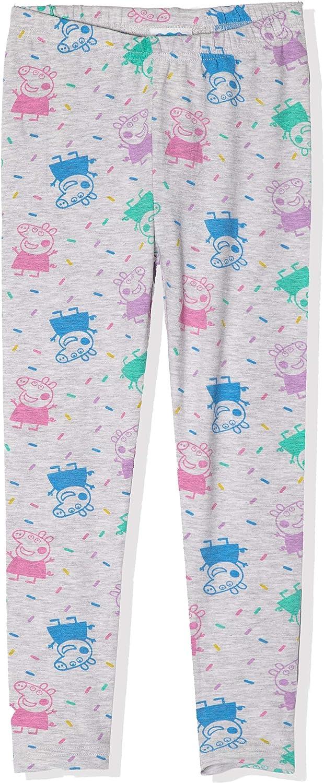Leggings da bambina ufficiali in cotone Peppa Pig 1-7 anni a lunghezza intera