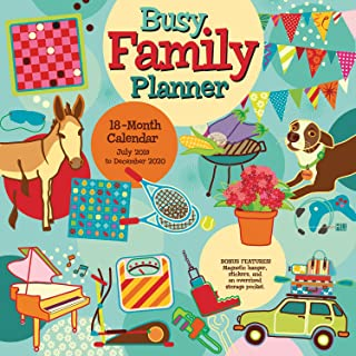 Best busy family planner 2018 wall planner calendar Reviews