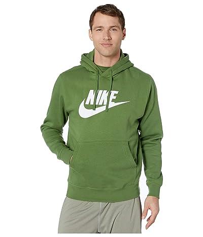 Nike NSW Club Hoodie Pullover Graphics (Treeline/Treeline) Men