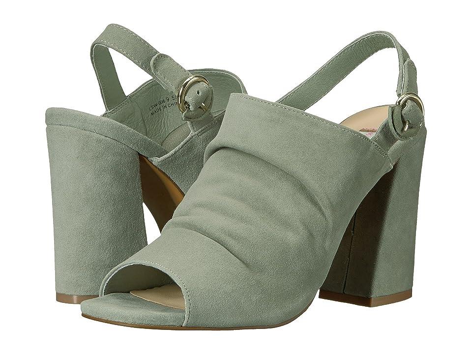 Kristin Cavallari Lilla Slingback Sandal (Sage Kid Suede) High Heels