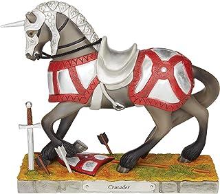 Enesco Trail of Painted Ponies Crusader Figurine, 7.75 in H x 2.75 in W x 7.5 in L, Multicolor