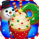 Santa Christmas Dessert Bake Shop features: Cake Pops Cupcakes Cookies Cakes Donuts Popsicles Ice Cream 100's of Christmas Decorations Tons of Xmas Candy Flavors Galore for Cake Pops, Cupcakes, Cookies, Ice Cream, Donuts! Realistic Cooking Tools Real...