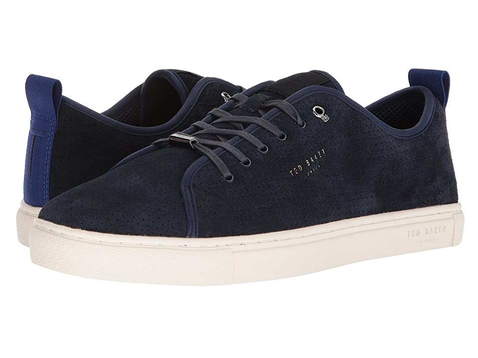Ted Baker Kaliix (Dark Blue Suede) Men