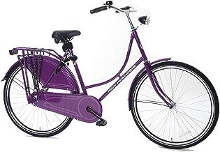 Redy GM28NOSTPURPLE - Bicicleta para Mujer, Rueda 28 in, Color Rojo