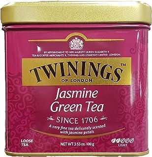 Twinings Jasmine Green Tea, Loose Tea, 3.53 Ounce Tin (1 Tin)