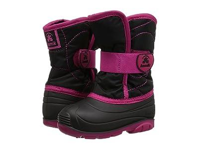 Kamik Kids Snowbug 3 (Toddler) (Black/Rose) Girls Shoes
