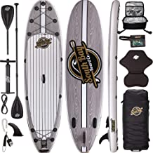 Premium Inflatable Stand Up Paddle Board Package - 10'6 Aqua Discover ISUP