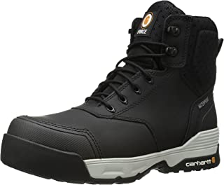 Carhartt Men's 6' Force Blk CMP Toe-m