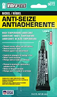 Vibra-TITE 9072 Nickel Anti-Seize Compound Lubricant, 2600 Degree F Maximum Temperature, 6mL Tube