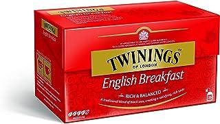 Twinings English Breakfast Tea, (Pack of 25)
