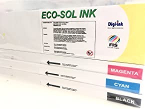 Eco-Sol Max Ink Cartridge - 440 ml - Roland Compatible - Made in Canada (440ml, Yellow)