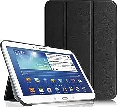 Fintie Samsung Galaxy Tab 3 10.1 Custodia - Ultra Sottile Di Peso Leggero Tri-Fold Smart Case Cover Sleeve Con Funzione Sleep/Wake per Samsung Galaxy TAB 3 25,7 cm (10,1 Pollici) Tablet, Nero