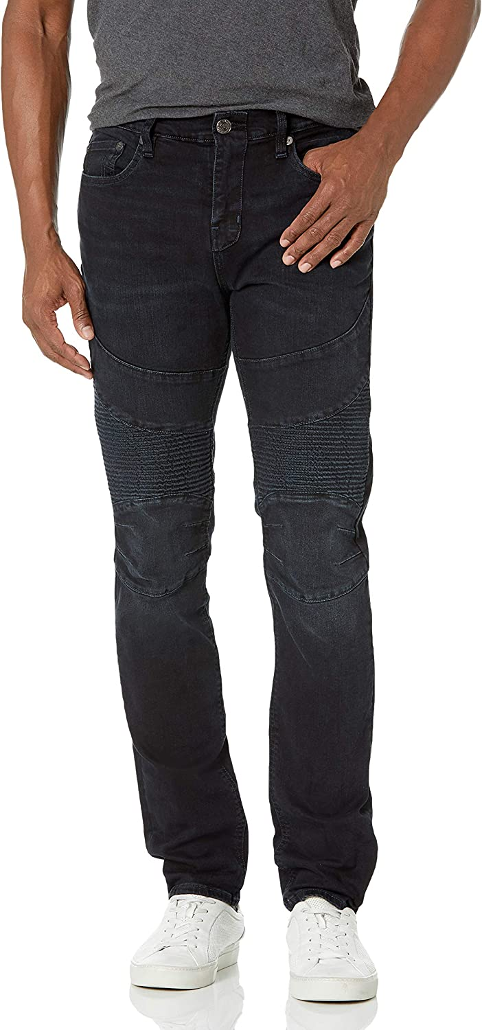 True All stores are sold Religion Men's 2021new shipping free Rocco Moto Skinny Fit Jean