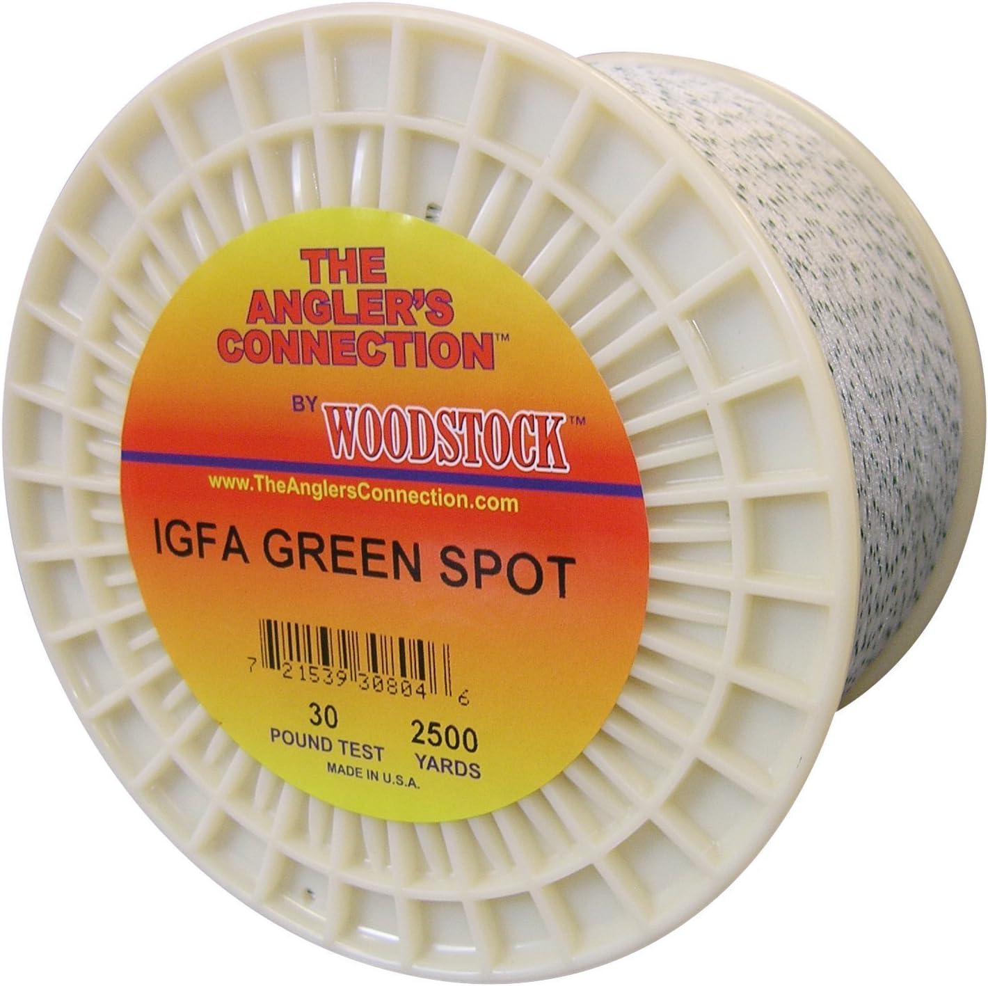 Woodstock IGFA Popular brand excellence Dacron Fishing Line Yards Test 800 80# GreenSpo