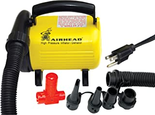 Airhead Hi Pressure Air Pump, 120v, Yellow/Black