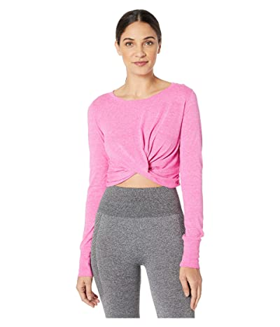 FP Movement Undertow Long Sleeve Tee (Dark Pink) Women