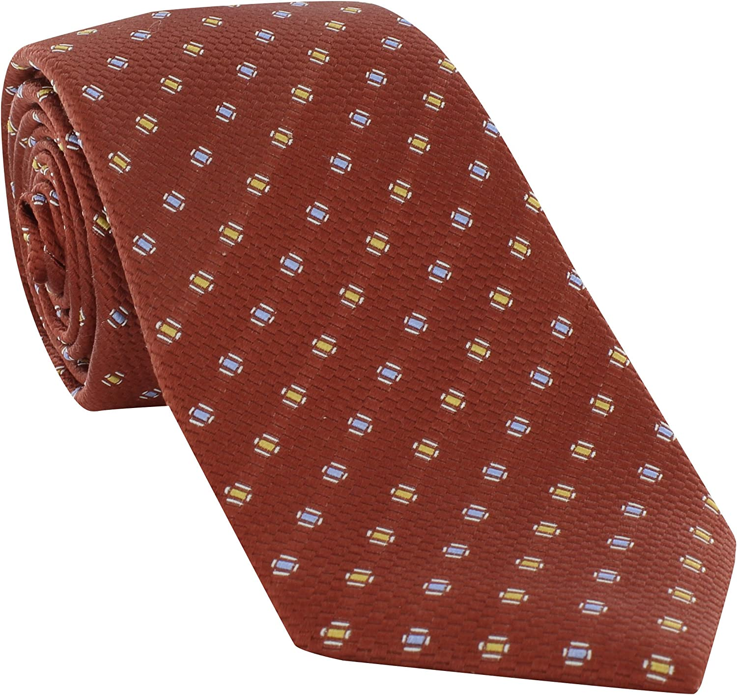 Michelsons of London Textured Pip Silk Tie