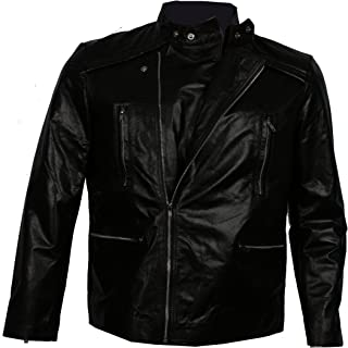 US Leather Fast & the Furious 8 Vin Diesel Dominic Toretto Premiere Leather Jacket.