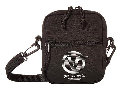 Vans Bail Shoulder Bag (Black Distort Type) Handbags