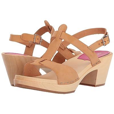 Swedish Hasbeens Greek Sandal (Nature) High Heels