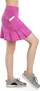 Annjoli Womens Skort Active Athletic Skirt for Running Tennis Golf Workout Sports Skorts