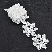 snowflake lace trim