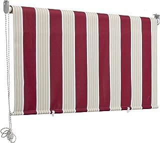 180 cm Altezza 150 cm generisch Tenda a Pannello Verticale 100 x 150 cm accorciabile con Forbici Bianca 250 cm