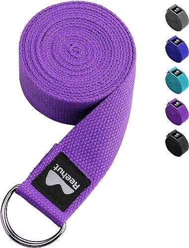 CINGHIA Strap per YOGA da 2,35 mt per la FLESSIBILITA Muscolare il Pilates belt