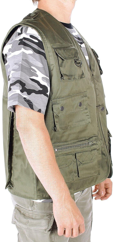 Mesh Camouflage Fotografie Trocknen Rapide-5/Gr/ö/ße zur Auswahl Generic Taschen Anglerweste