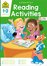 School Zone - Reading Activities 1-2 Workbook - 64 Pages, Ages 6 to 8, 1st Grade, 2nd Grade, Comprehension, Comparing, Contrasting, Evaluating, and More (School Zone I Know It!® Workbook Series)
