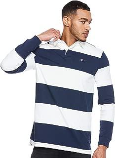Tommy Hilfiger Men's DM0DM05152-White & Blue T-Shirts