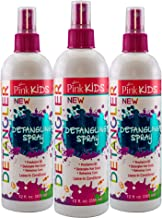 Luster's Pink Kids Detangler Spray - 3 pack