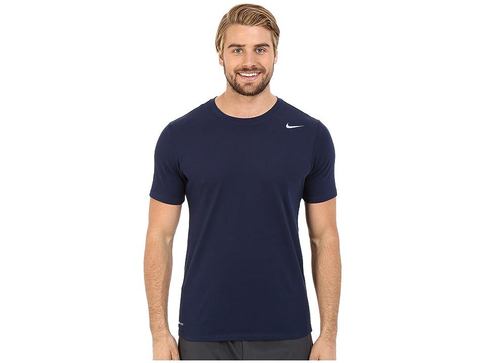 Nike Dri-FITtm Version 2.0 T-Shirt (Obsidian/Obsidian/Matte Silver) Men