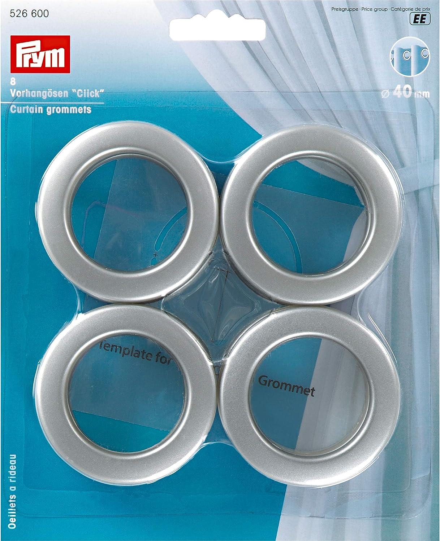20tlg Kunststoff Ringe Stoffösen Dekoöse Ösen Stoffösen Rund für Gardinen